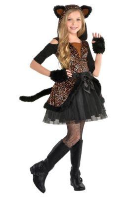 Girls Spot On Leopard Costume
