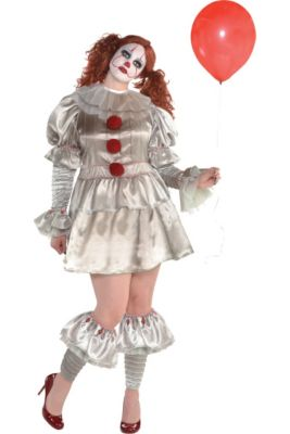 womens pennywise costume plus size it