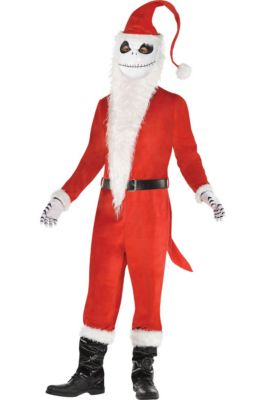 mens sandy claws costume the nightmare before christmas - Nightmare Before Christmas Santa Hat