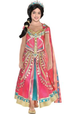 ce4d8bc6d38 In-Store Pickup · Child Pink Jasmine Costume - Aladdin