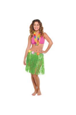 16c8b9dcb62 Hula Skirts - Grass Skirts | Party City