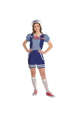 bb8bc2258 Adult Robin Scoops Ahoy Costume - Stranger Things