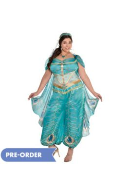 d0d93fae6 Adult Jasmine Whole New World Costume Plus Size - Aladdin Live-Action