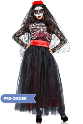 1182194828e Day of the Dead Costumes - Day of the Dead Halloween Costumes ...