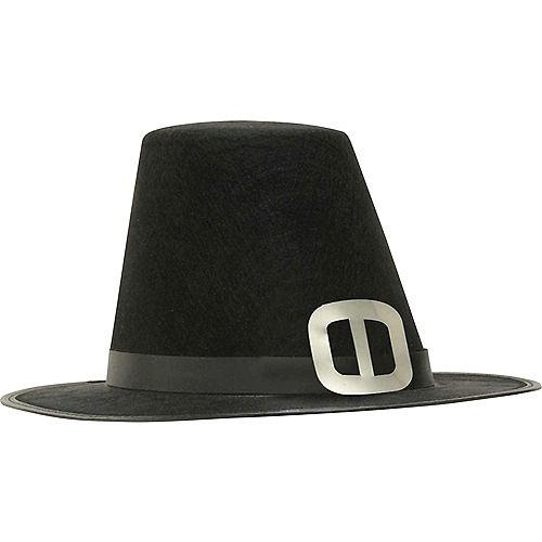 15de0b5099281 Silver Buckle Pilgrim Hat