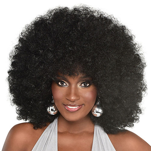Wigs By Decade 50s 60s Afro Wigs Party City