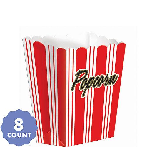 Small Movie Night Popcorn Boxes 8ct