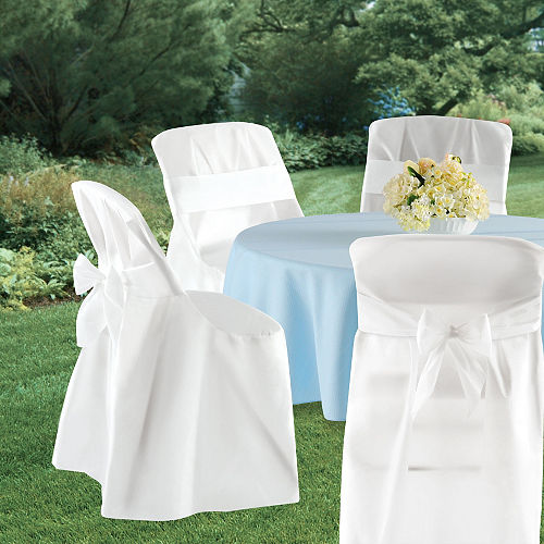 folding chair covers 4ct