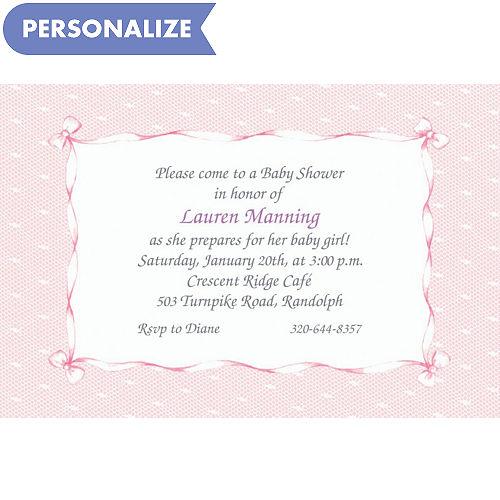 custom baby shower invitations baby shower invites party city