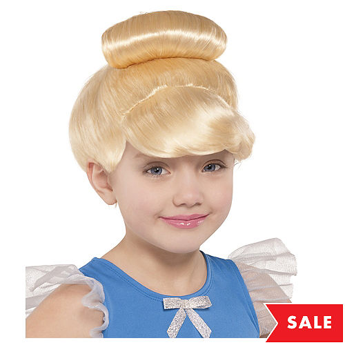 a1e9984d1533a Child Cinderella Wig | Party City