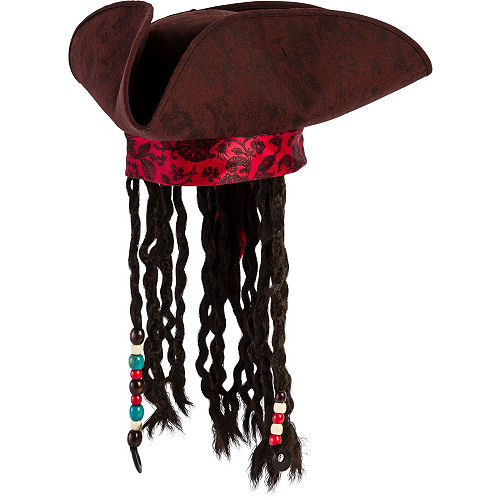 9624d437e7f Pirates of the Caribbean Hat With Braids