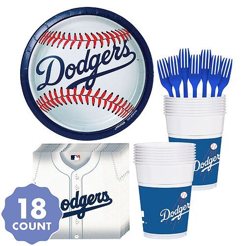ff43f1c2 MLB Los Angeles Dodgers Party Supplies   Party City