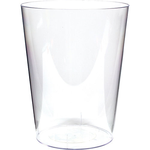 Clear Plastic Cylinder Container 7 12in X 6in Party City