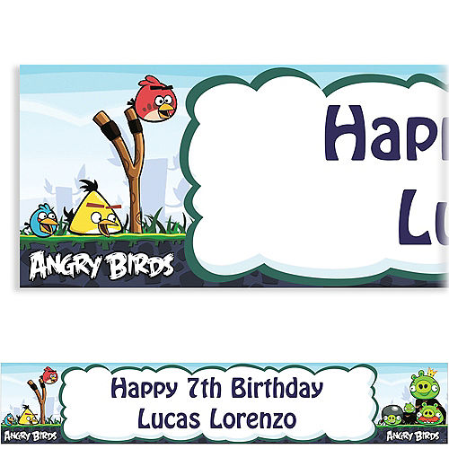 Custom Happy Birthday Banners - Party Banners | Party City