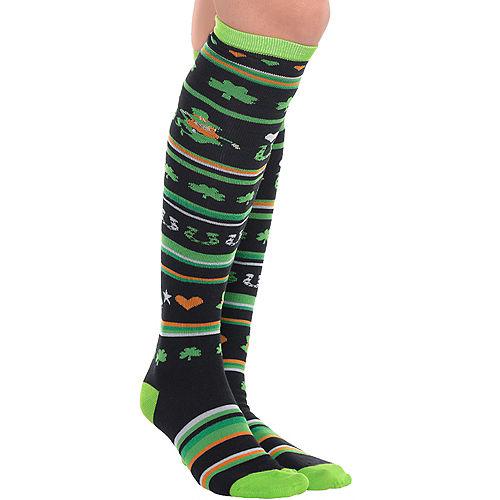 4931f8001 St. Patrick's Day Leggings & Socks | Party City