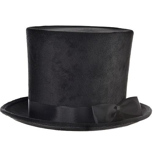 04110316b3666 Victorian Black Top Hat Deluxe