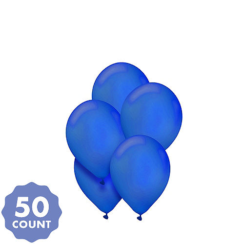 blue balloons party city