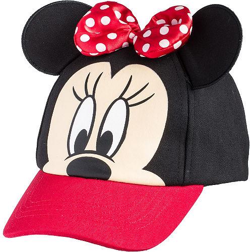 Child Minnie Mouse Baseball Hat 616b55a1e468