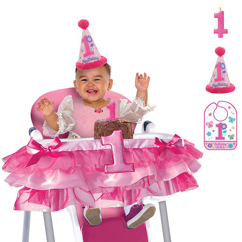 Sweet Girl 1st Birthday Smash Cake Kit