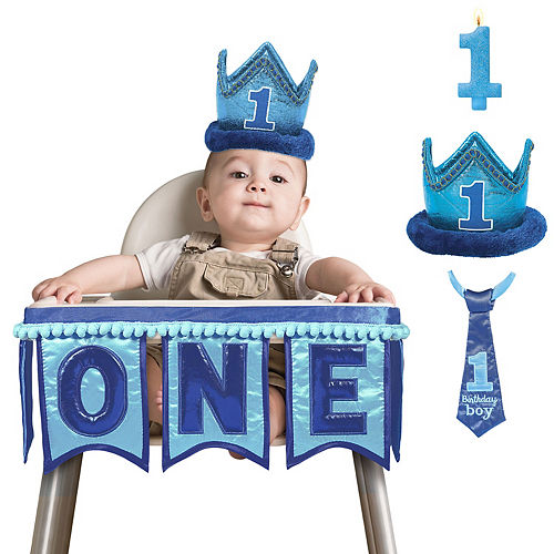 General Boy 1st Birthday Smash Cake Kit
