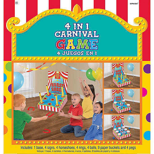 4 In 1 Carnival Games Set