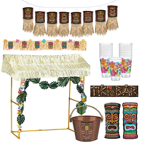 Tiki Bar Decorating Kit
