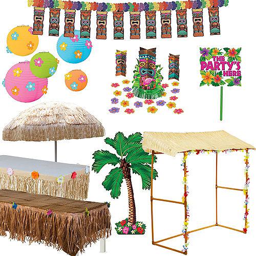 Full Tiki Party Decorating Kit
