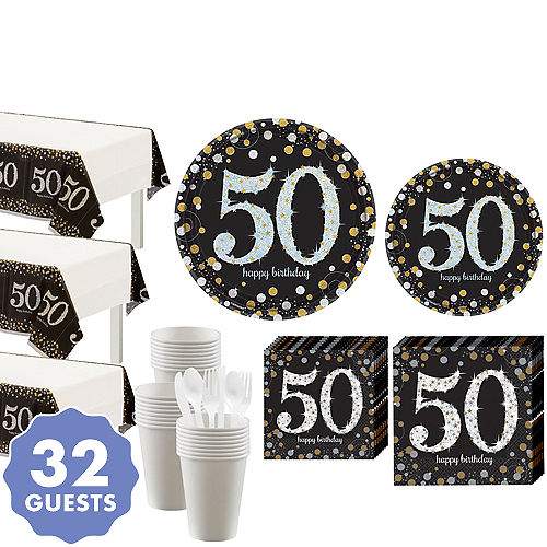 a612150b4 50th Birthday Party Supplies - 50th Birthday Ideas & Themes | Party ...