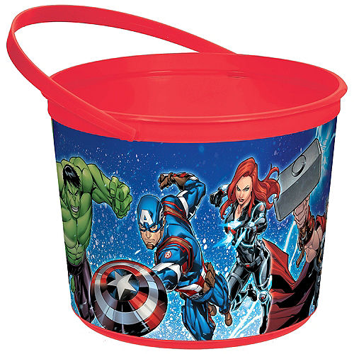Easter baskets for kids plush baskets plastic buckets party city avengers favor container negle Image collections