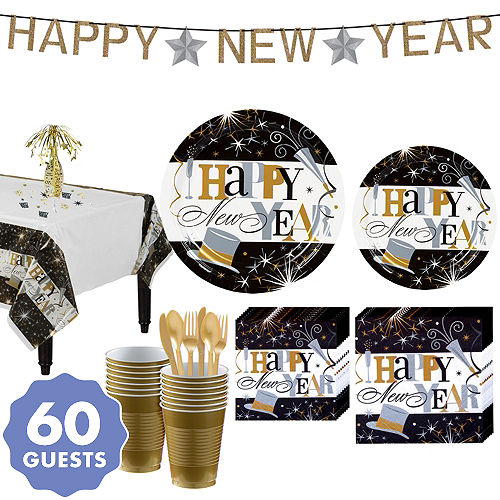 2018 New Year\'s Eve Party Supplies – New Year\'s Eve Decorations ...