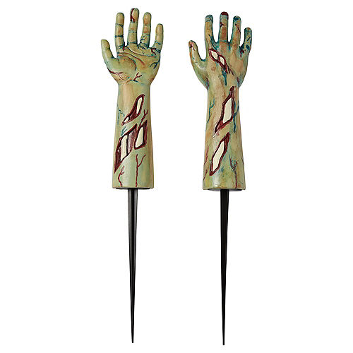 Zombie Arm Yard Stakes 2ct