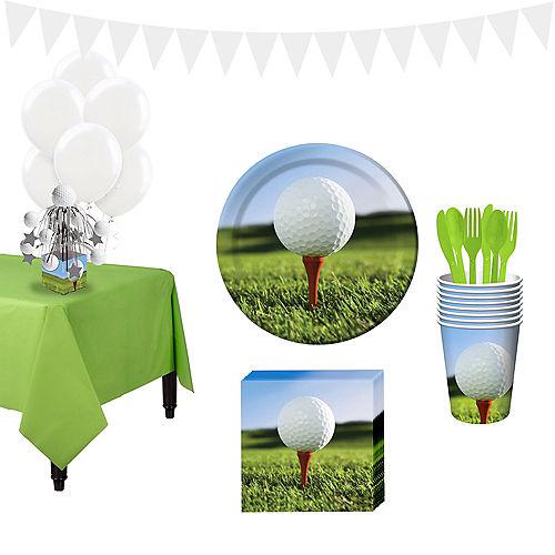 Golf Super Tableware Kit For 16 Guests