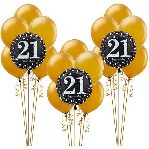 Sparkling Celebration 21st Birthday Balloon Kit