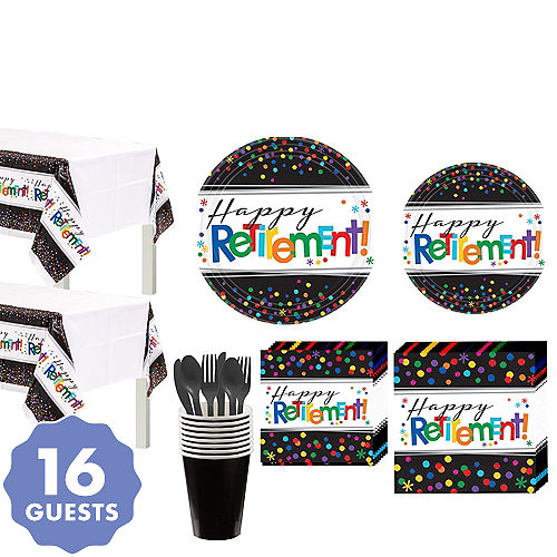 Happy Retirement Party Supplies - Retirement Party Ideas