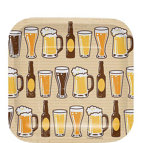 Cheers Beers Dessert Plates 8ct