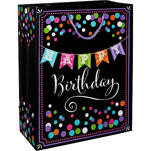 Happy Birthday Banner Gift Bag