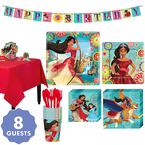 Elena Of Avalor Tableware Party Kit For 8 Guests