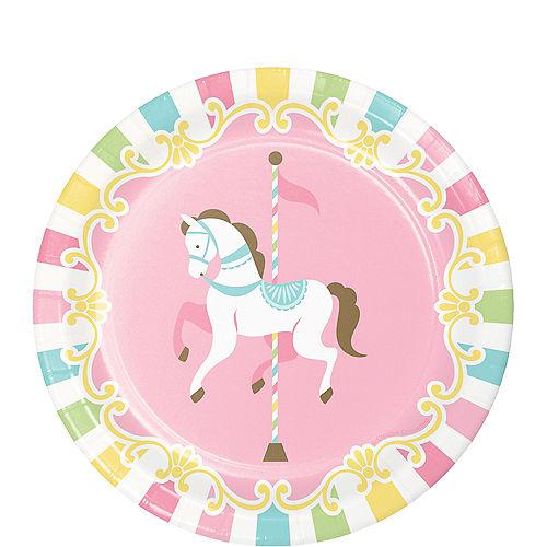 5d8e0d083c3 Pink Carousel Baby Shower Supplies - Pink Carousel Baby Shower ...