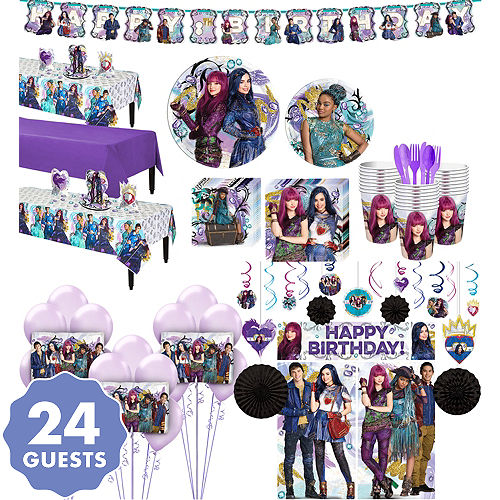 Descendants 2 Tableware Ultimate Kit For 24 Guests