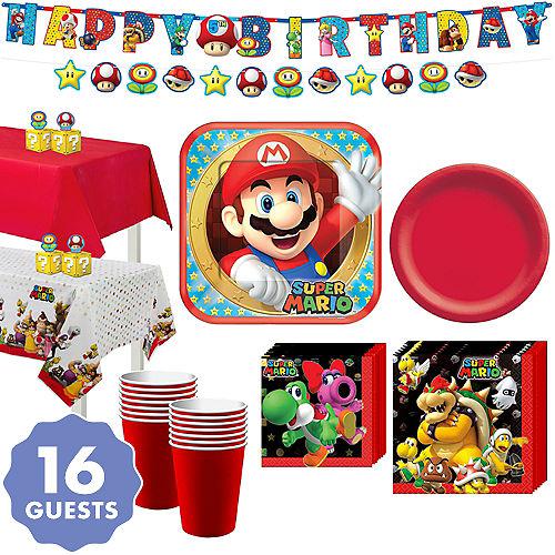 Super Mario World Christmas.Super Mario Party Supplies Super Mario Birthday Ideas