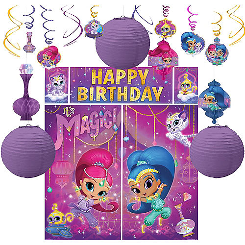 Shimmer And Shine Decorating Kit