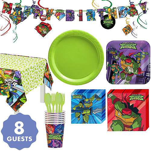 Halloween 2020 Party City Tmnt Teenage Mutant Ninja Turtles Party Supplies   Ninja Turtle