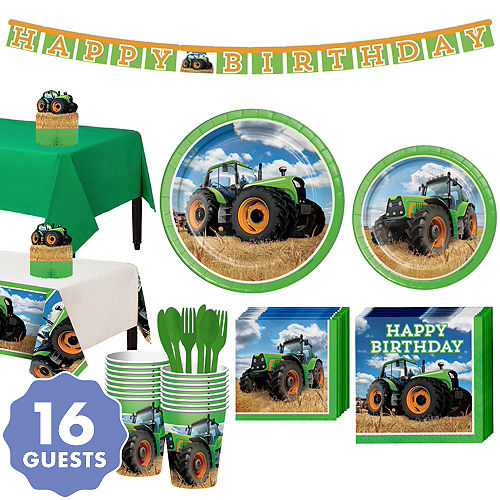 Tractor Party Supplies Tractor Birthday Party Party City