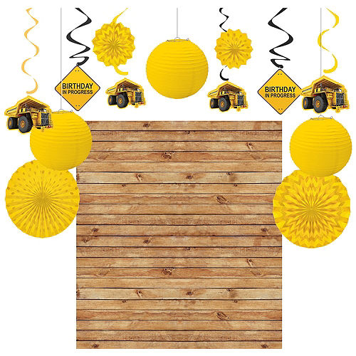Construction Zone Decorating Kit