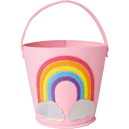 Felt Rainbow Favor Bucket