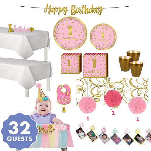 1st Birthday Party Supplies For Boys Girls Party City