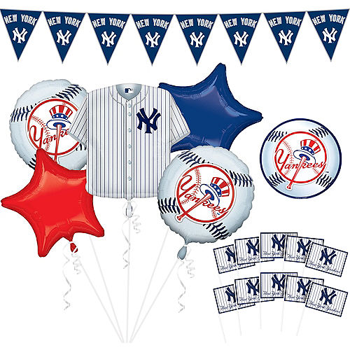 Mlb New York Yankees Party Supplies Party City