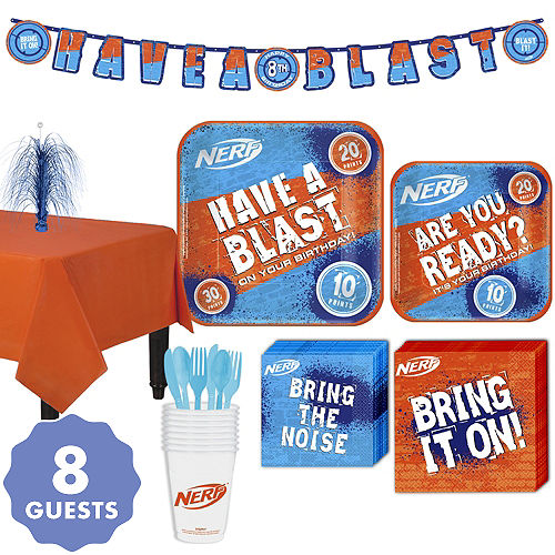 Nerf Party Kit For 8 Guests