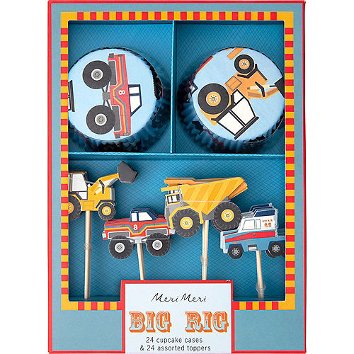 Big Rig Truck Birthday Party Supplies | Party City
