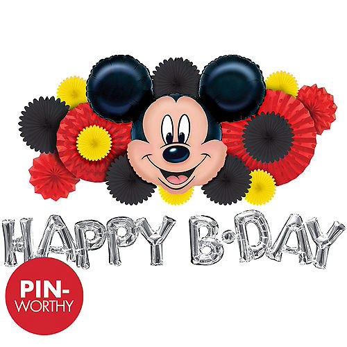Mickey Mouse Wall Decorating Kit